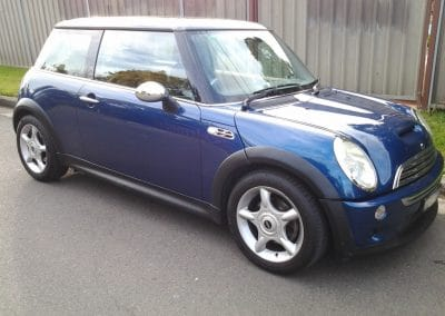 Mini Cooper S Inspection