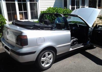 VW Golf Inspection