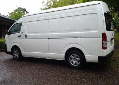 Toyota 9.0 Van Inspection