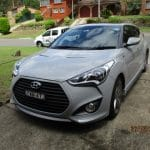 Car Inspection of Hyundai Veloster by PDS vehicle inspections