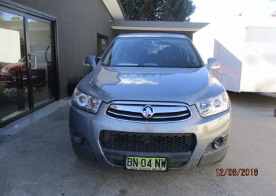 Holden Captiva car inspection