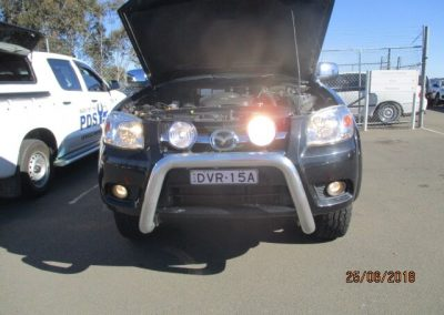 Mazda BT50 Inspection